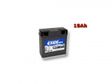 Motobatéria EXIDE BIKE Factory Sealed 19Ah, 12V, GEL12-19