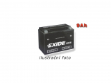 Motobatéria EXIDE BIKE Factory Sealed 9Ah, 12V, AGM12-9