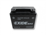 Motobatéria EXIDE BIKE Factory Sealed 10Ah, 12V, AGM12-10