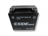 Motobatéria EXIDE BIKE Factory Sealed 12Ah, 12V, AGM12-12