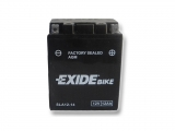Motobatéria EXIDE BIKE Factory Sealed 12Ah, 12V, AGM12-14